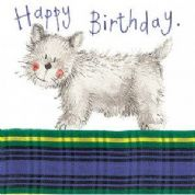 Alex Clark Art - Greeting Card - Little Sparkles - Birthday Dog